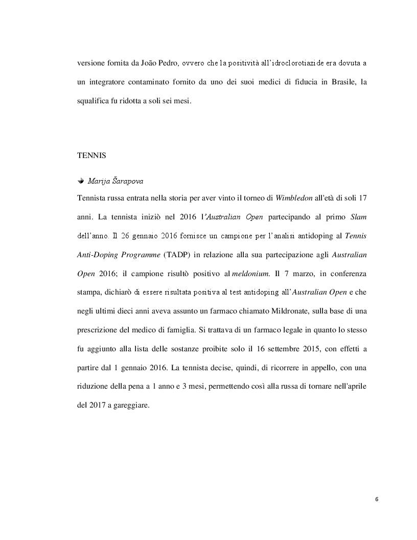 Anteprima della tesi: Doping ed eritropoietina: effetti sull'organismo e rivelazione nei liquidi biologici, Pagina 6