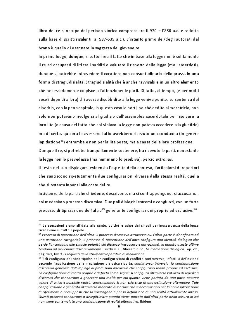 Estratto dalla tesi: Mediazione: costrutto in fieri. Breve analisi del testo prodotto dal polo dialogico del legislatore