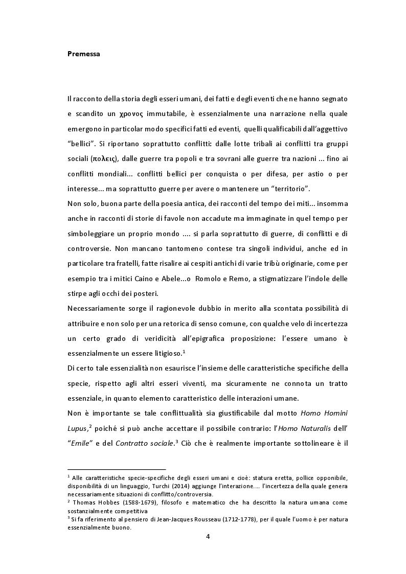 Anteprima della tesi: Mediazione: costrutto in fieri. Breve analisi del testo prodotto dal polo dialogico del legislatore, Pagina 2