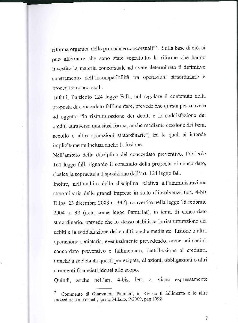 Anteprima della tesi: Fusione, liquidazione e crisi d'impresa, Pagina 8