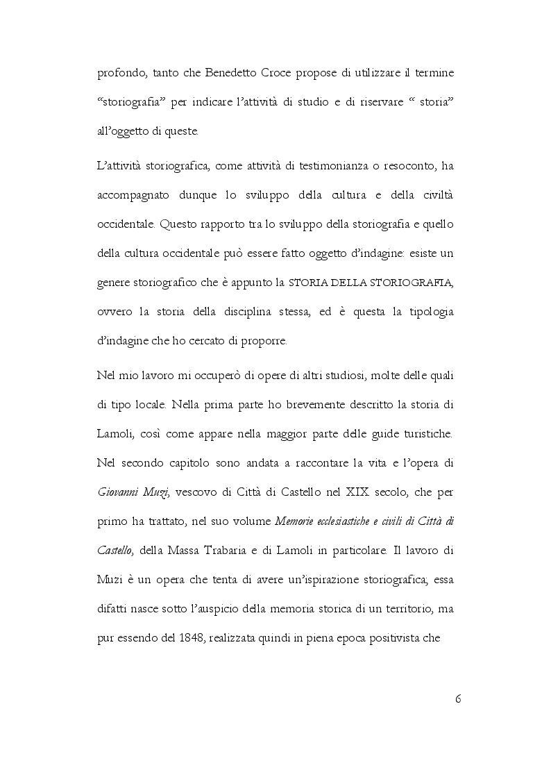 Anteprima della tesi: La Storiografia sulla Massa Trabaria con particolare riferimento dell'Abbazia Benedettina di San Michele Arcangelo di Lamoli, Pagina 3