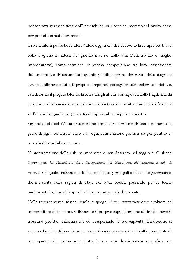 Anteprima della tesi: Tra Italia ed Europa: riforme del mercato del lavoro e governo della precarietà, Pagina 5