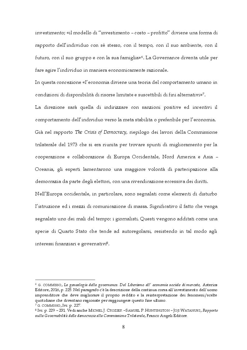 Anteprima della tesi: Tra Italia ed Europa: riforme del mercato del lavoro e governo della precarietà, Pagina 6
