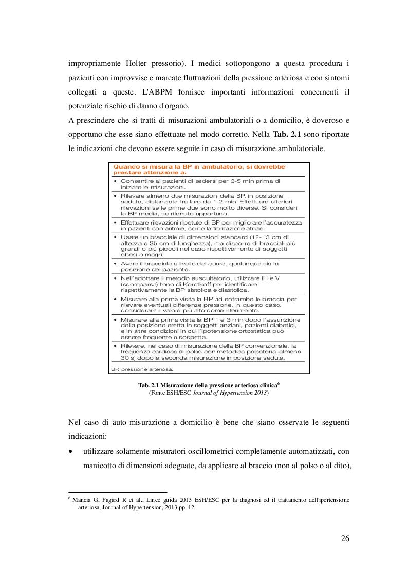 Anteprima della tesi: L'attività fisica come prevenzione primaria dell'ipertensione arteriosa essenziale, Pagina 7