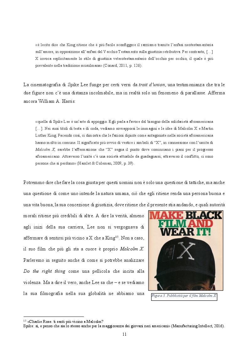 Estratto dalla tesi: ''By Any Means Necessary'': La narrazione della Blackness in Spike Lee