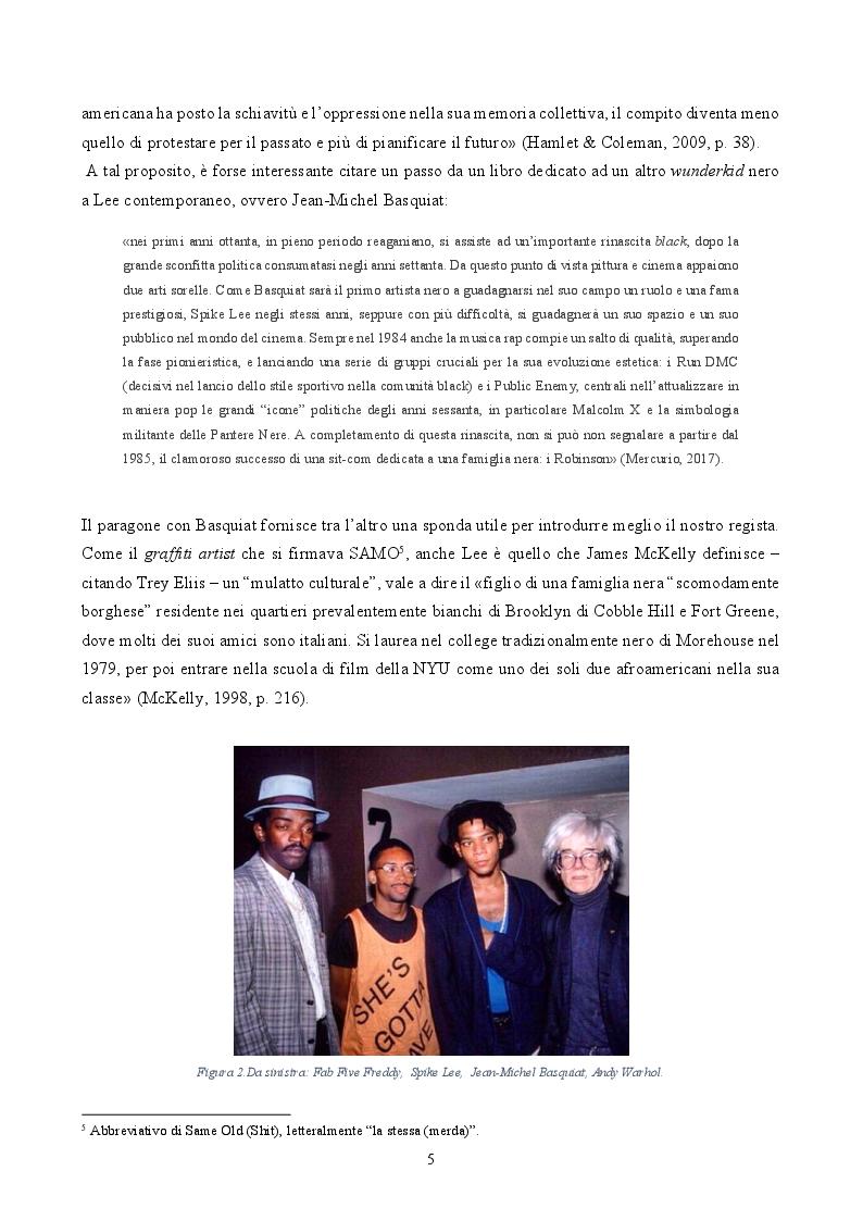 Anteprima della tesi: ''By Any Means Necessary'': La narrazione della Blackness in Spike Lee, Pagina 3