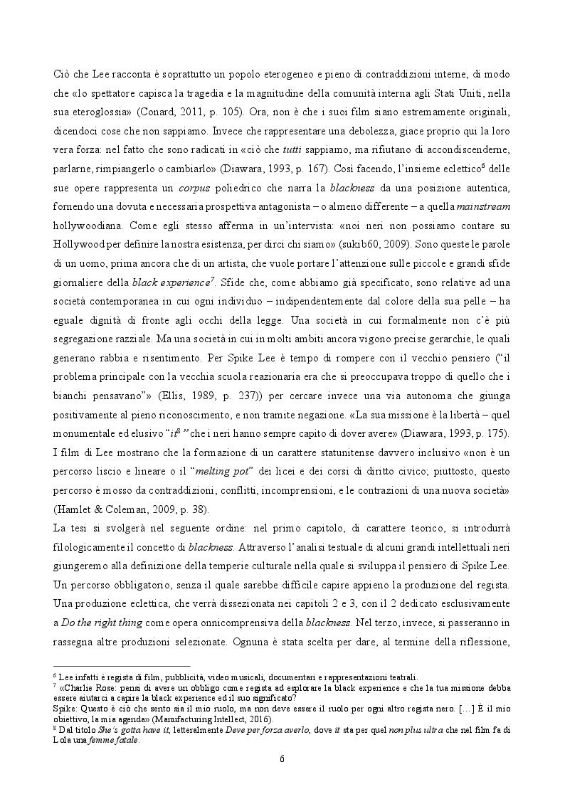 Anteprima della tesi: ''By Any Means Necessary'': La narrazione della Blackness in Spike Lee, Pagina 4