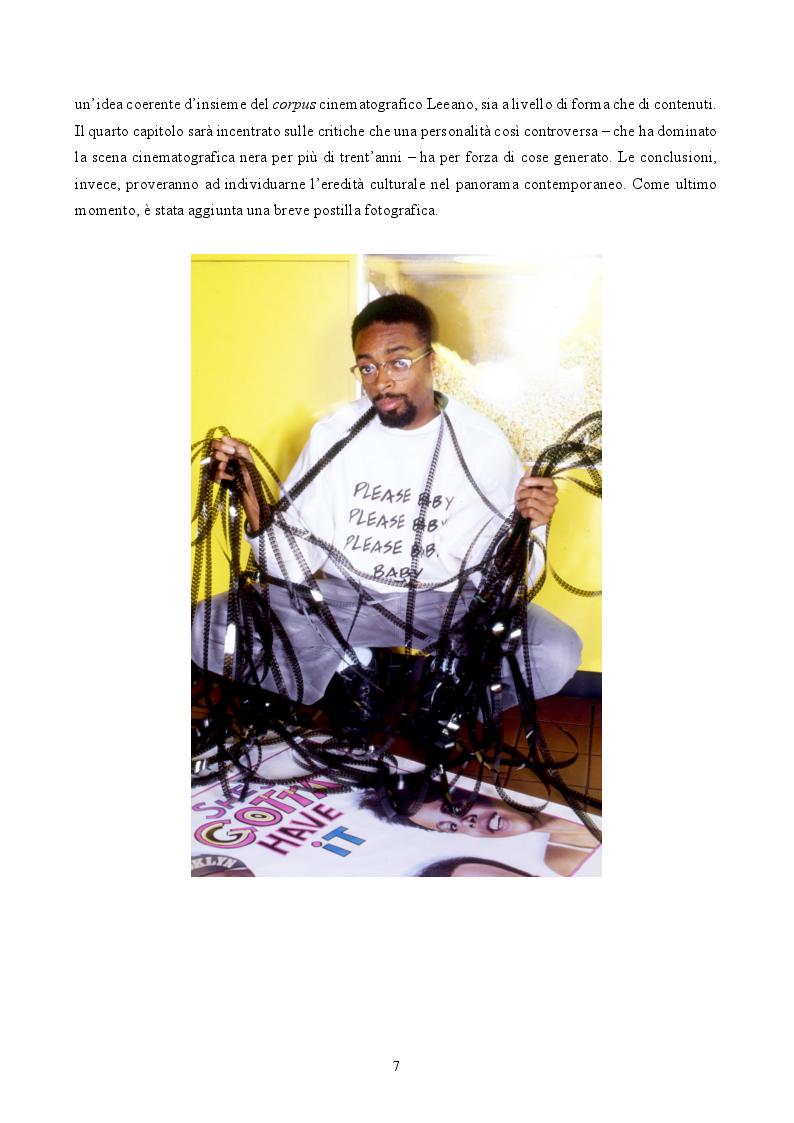 Anteprima della tesi: ''By Any Means Necessary'': La narrazione della Blackness in Spike Lee, Pagina 5