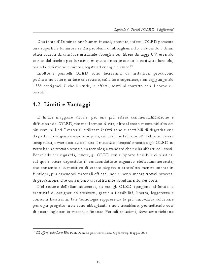 Anteprima della tesi: Roled. Sviluppo di un dispositivo Oled per la creazione di luce ausiliaria e d'emergenza adattabile, Pagina 3