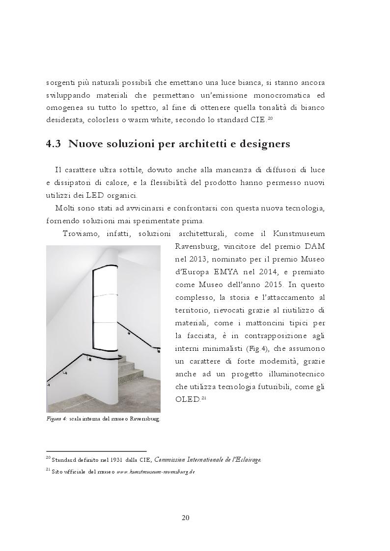 Anteprima della tesi: Roled. Sviluppo di un dispositivo Oled per la creazione di luce ausiliaria e d'emergenza adattabile, Pagina 4