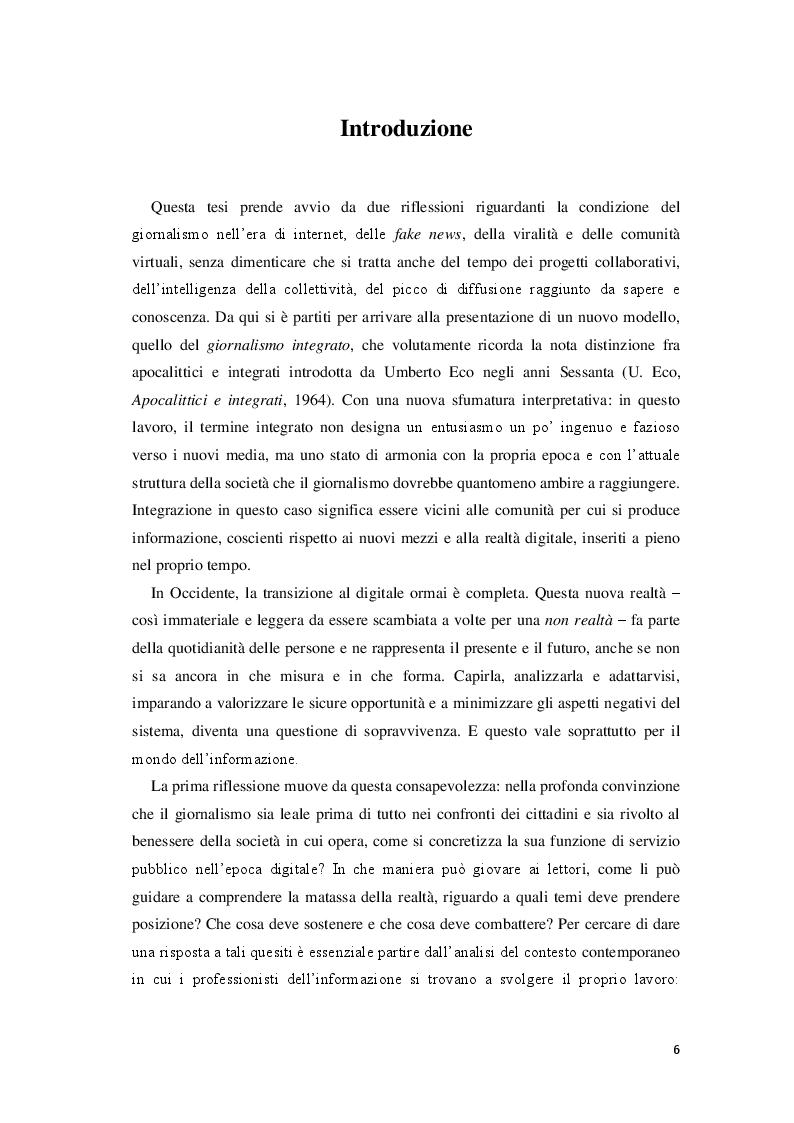 Anteprima della tesi: Giornalisti e lettori integrati: nuove alfabetizzazioni e sfide dell'informazione, Pagina 2