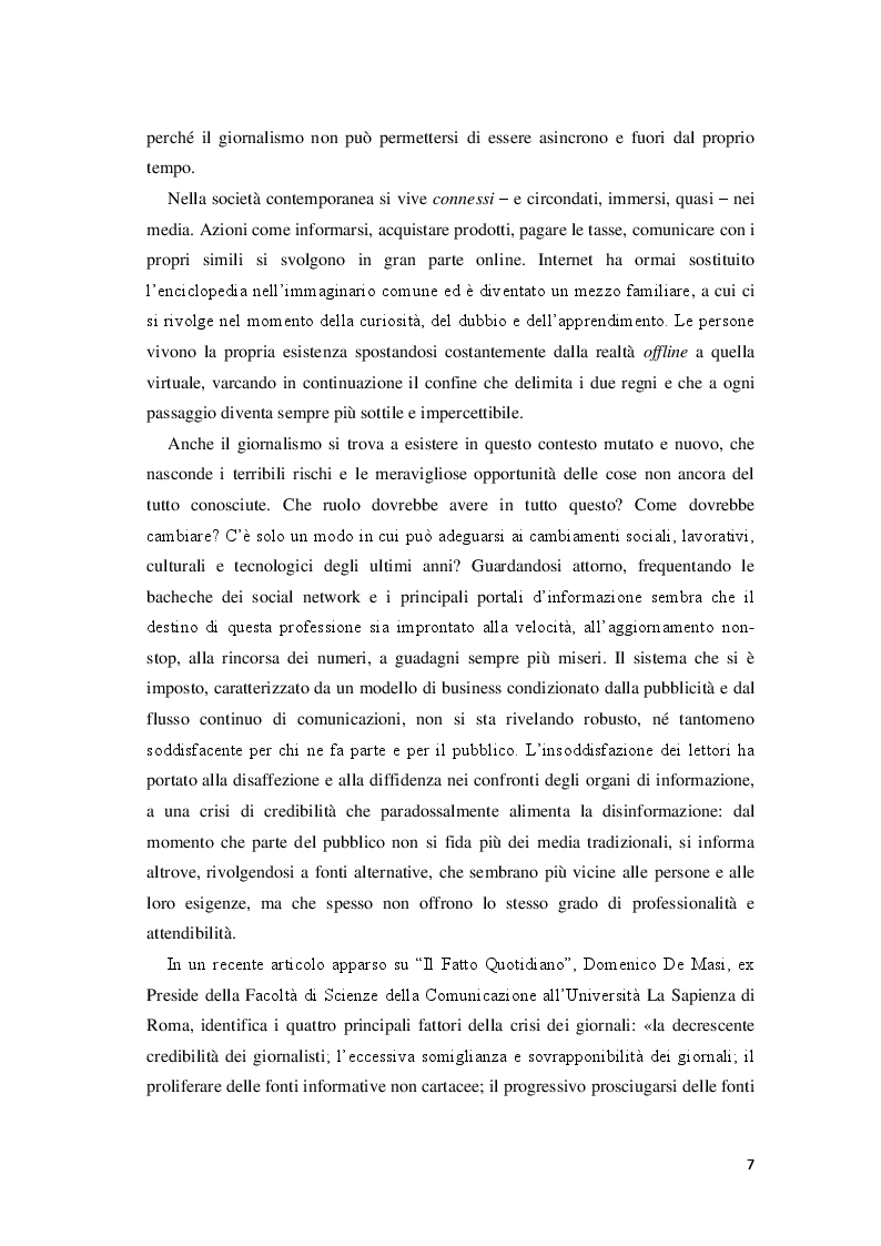 Anteprima della tesi: Giornalisti e lettori integrati: nuove alfabetizzazioni e sfide dell'informazione, Pagina 3