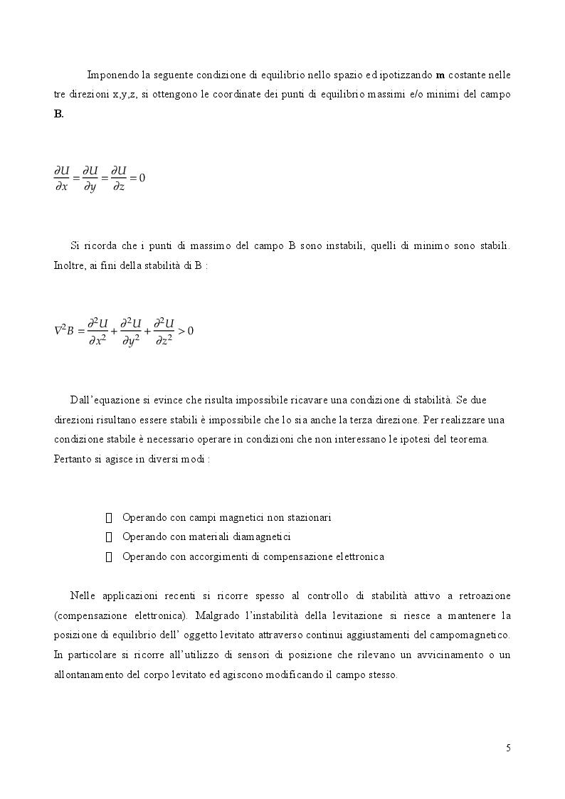 Anteprima della tesi: Cuscinetti magnetici: tipologie ed applicazioni, Pagina 3
