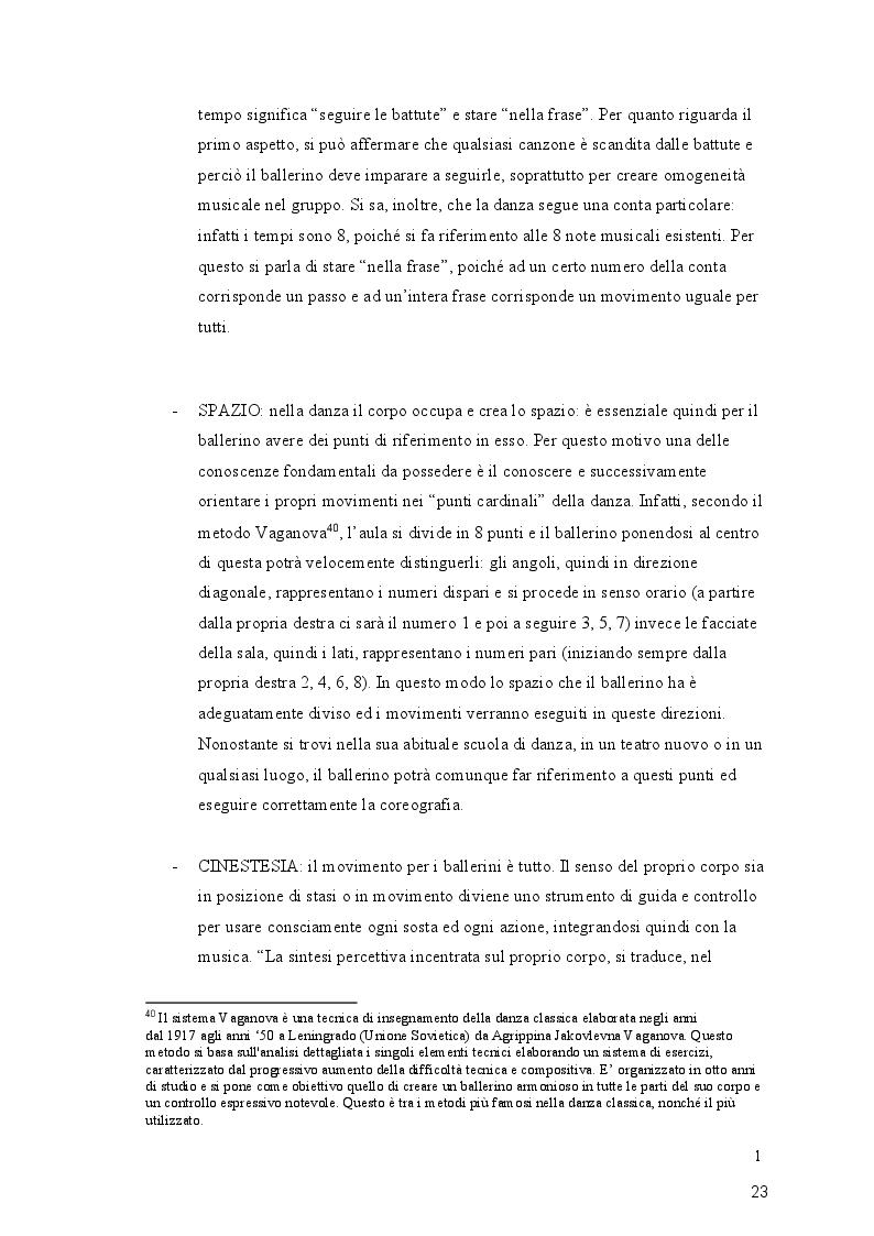 Anteprima della tesi: Giocodanza, imparare giocando, Pagina 3