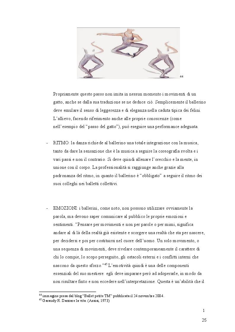 Anteprima della tesi: Giocodanza, imparare giocando, Pagina 5