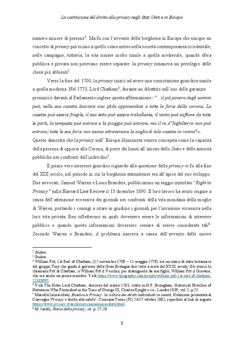 Anteprima della tesi: Il Regolamento UE 2016/679 e il bilanciamento tra diritti degli interessati e obblighi dei titolari del trattamento, Pagina 9
