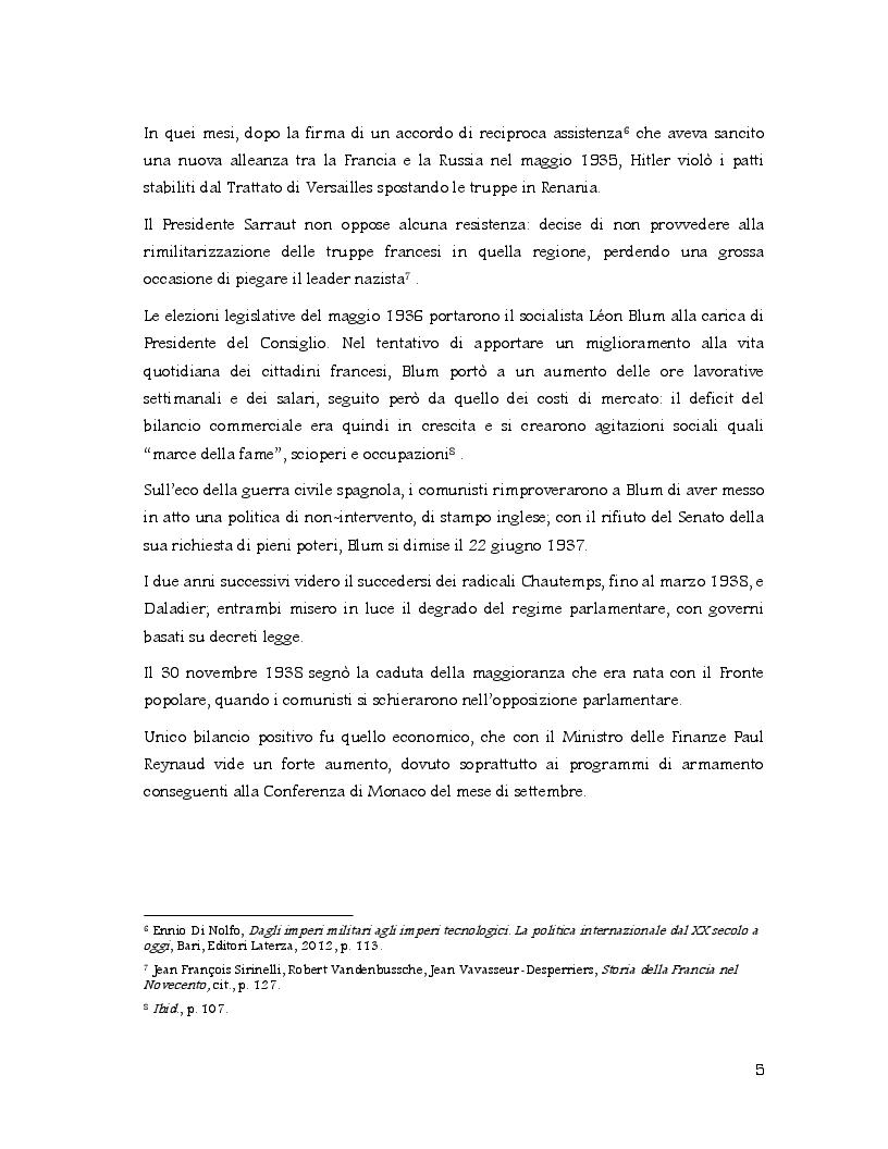 Anteprima della tesi: Racconti di vita di un artista clandestino: la disfatta della Francia attraverso la penna di Jean Bruller, Pagina 6