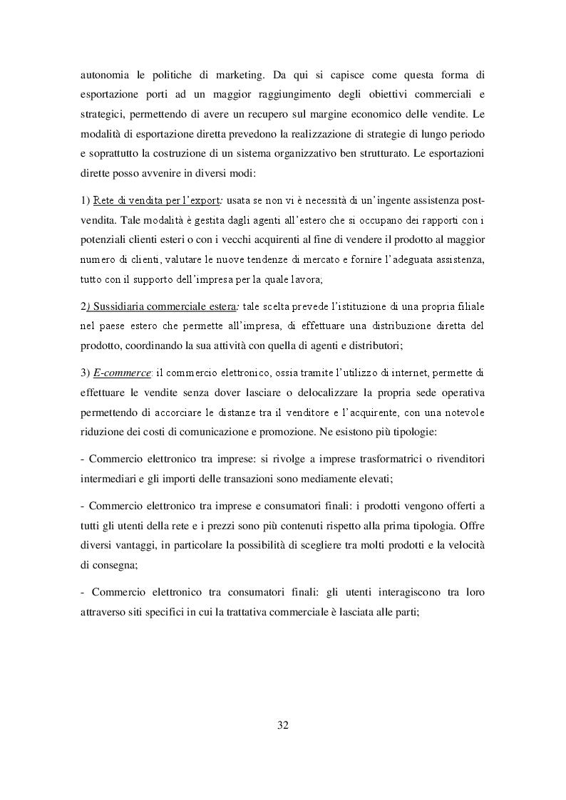 Anteprima della tesi: Ruolo delle Camere di Commercio nell'internazionalizzazione delle imprese agroalimentari, Pagina 4