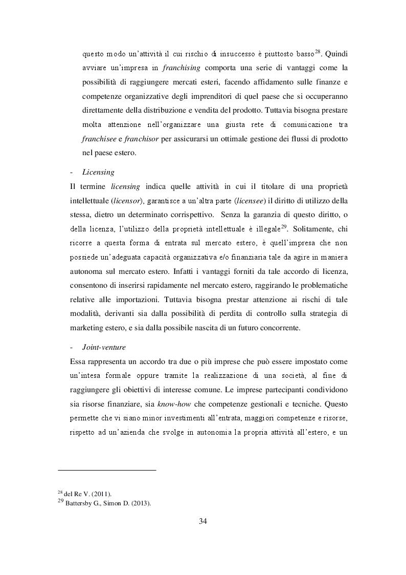 Anteprima della tesi: Ruolo delle Camere di Commercio nell'internazionalizzazione delle imprese agroalimentari, Pagina 6