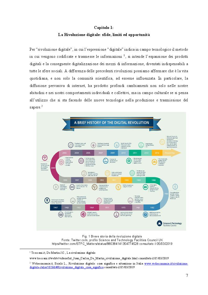 Anteprima della tesi: Storytelling digitale e nuove forme di fruizione per il Museo 4.0, Pagina 4