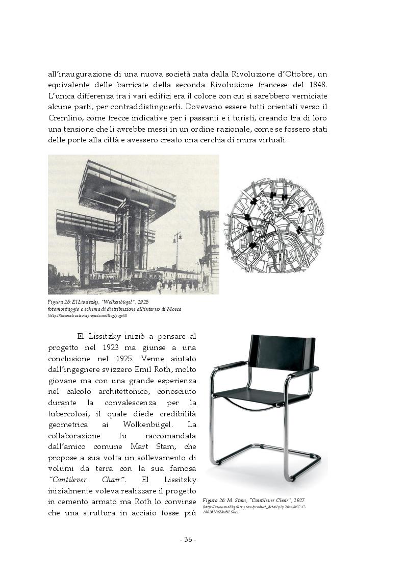 Anteprima della tesi: Analisi e rappresentazione del grattacielo orizzontale: El Lissitzky e il progetto del Wolkenbugel a Mosca (1923-1925), Pagina 5