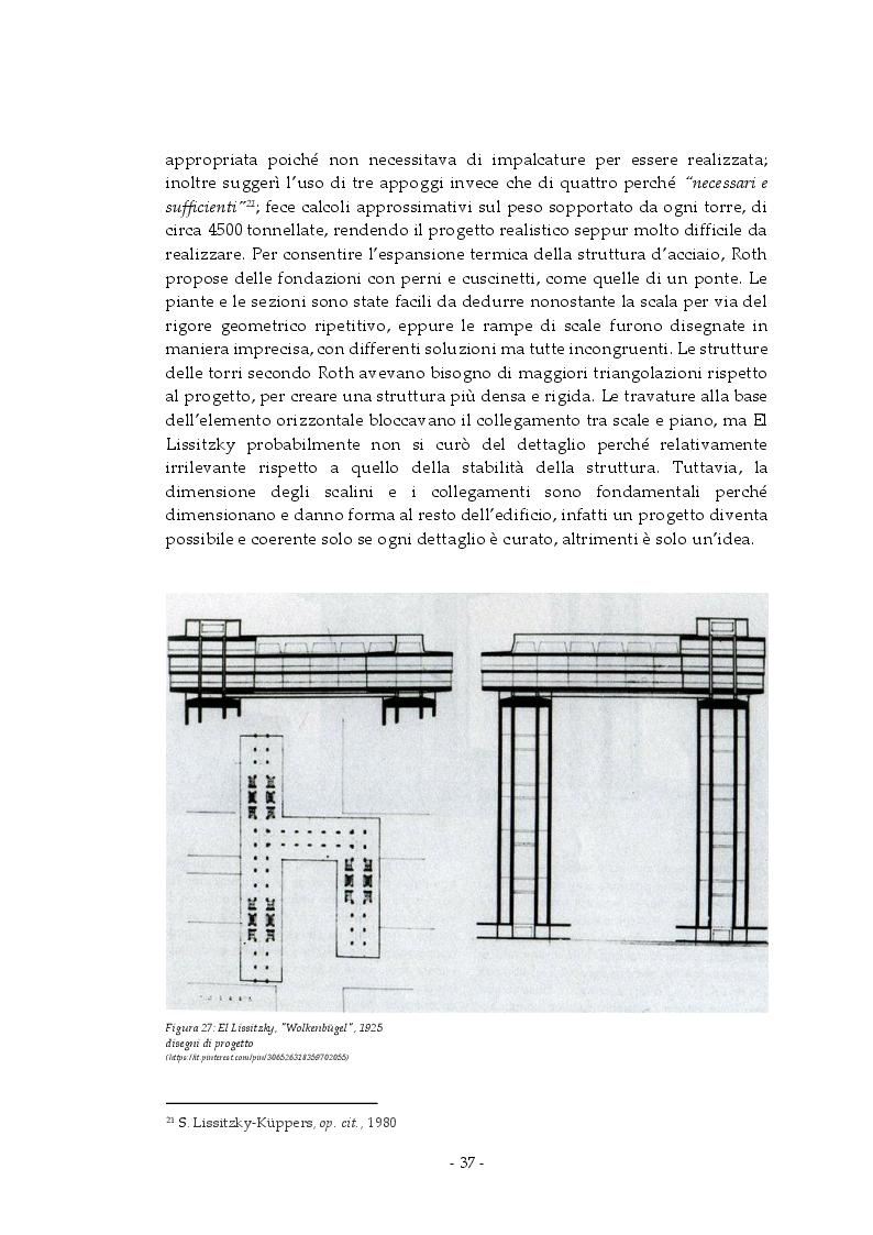 Anteprima della tesi: Analisi e rappresentazione del grattacielo orizzontale: El Lissitzky e il progetto del Wolkenbugel a Mosca (1923-1925), Pagina 6