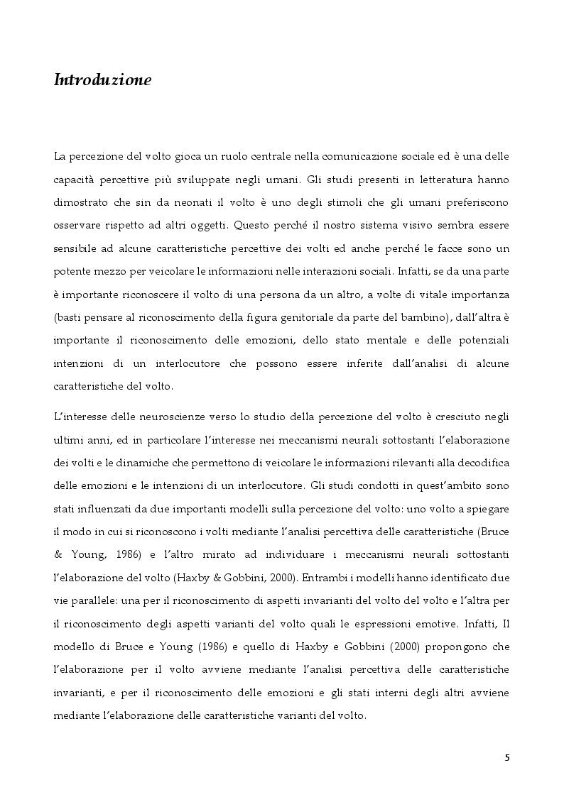 Anteprima della tesi: L'attenzione per segnali sociali negli anziani, Pagina 2