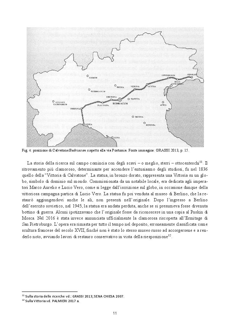 Anteprima della tesi: Analisi preliminare dei materiali del livello superficiale (US 8185) della campagna di scavo UniMI 2014 a Calvatone-Bedriacum, Pagina 8