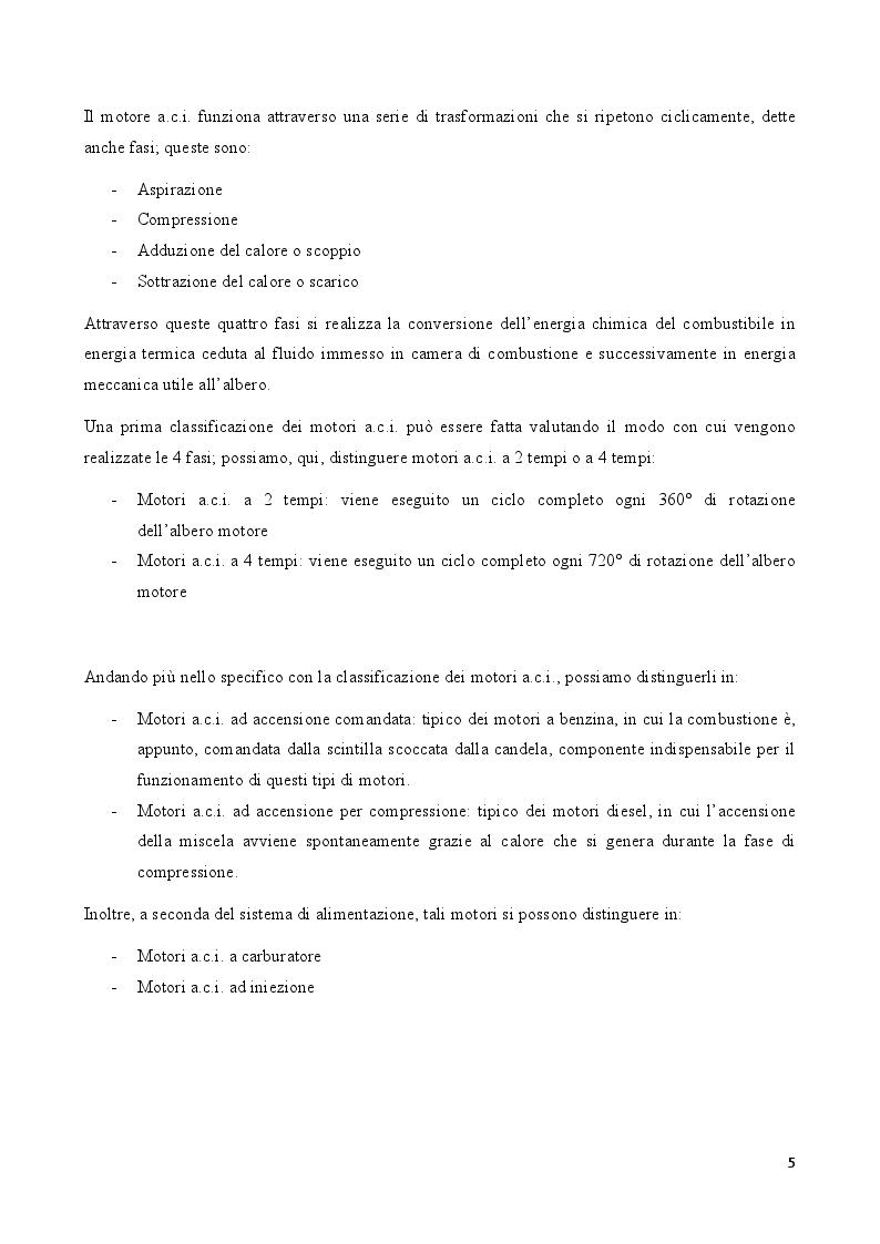 Anteprima della tesi: Rendimento volumetrico nei motori alternativi a combustione interna ad alta potenza specifica, Pagina 3