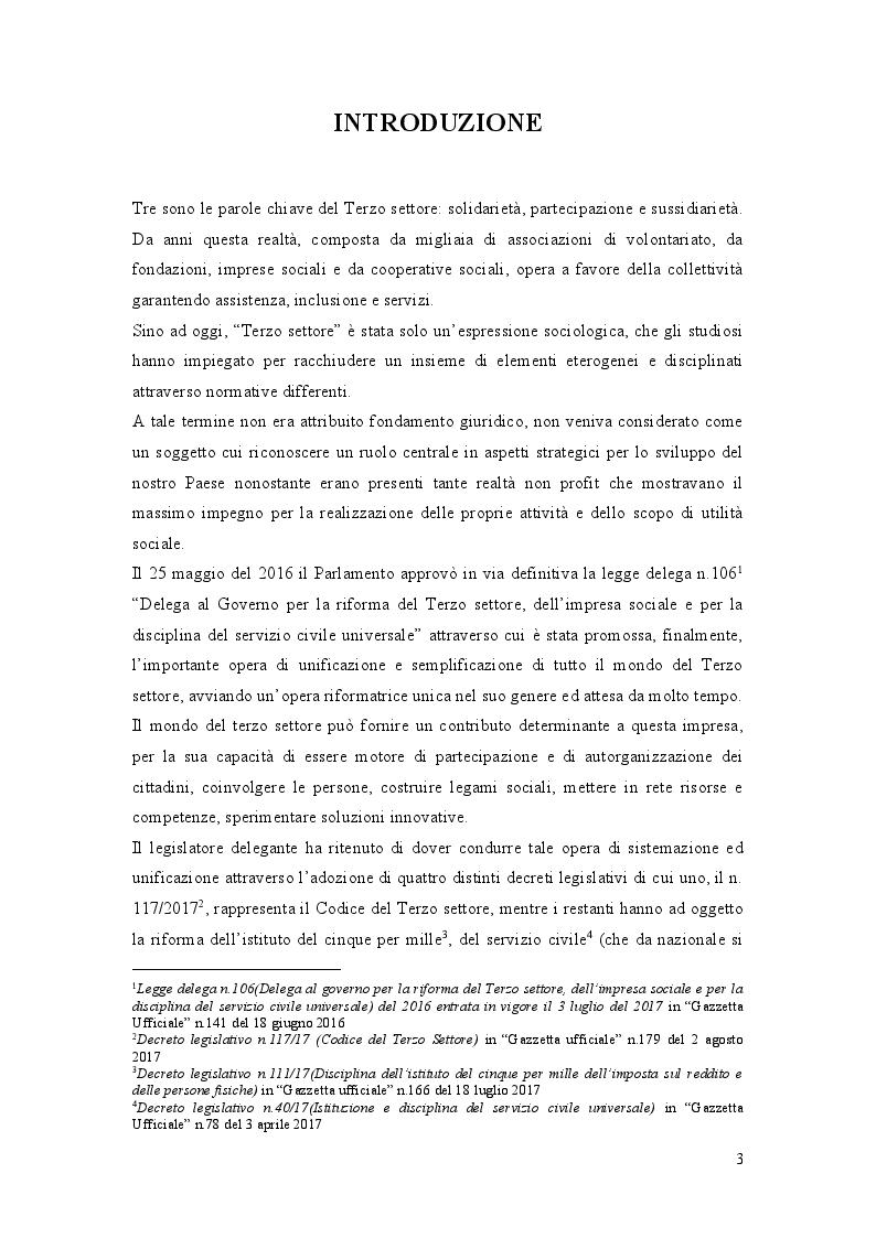 Anteprima della tesi: La Riforma del Terzo Settore: L'Impresa Sociale, Pagina 2