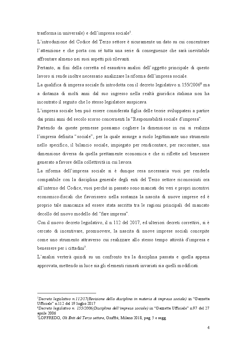Anteprima della tesi: La Riforma del Terzo Settore: L'Impresa Sociale, Pagina 3