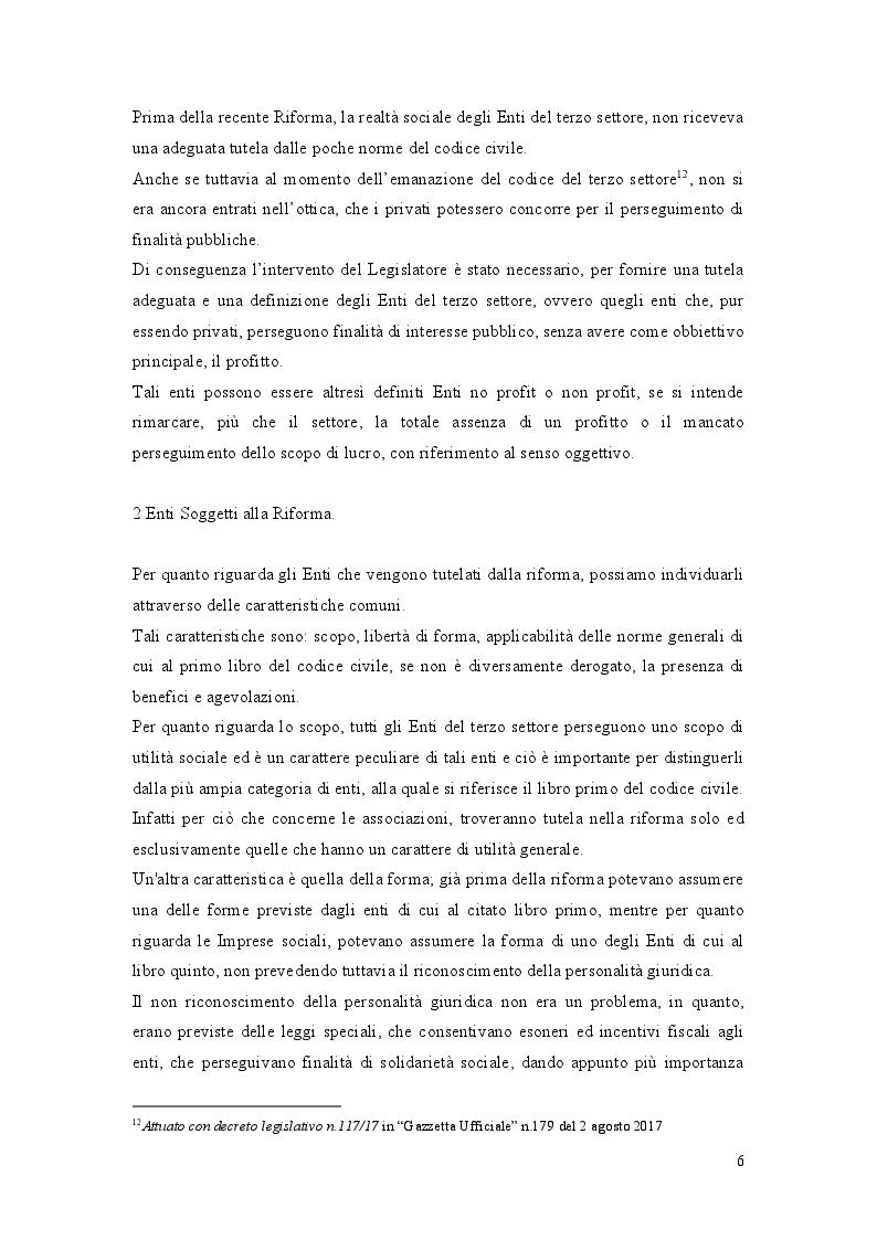 Anteprima della tesi: La Riforma del Terzo Settore: L'Impresa Sociale, Pagina 5