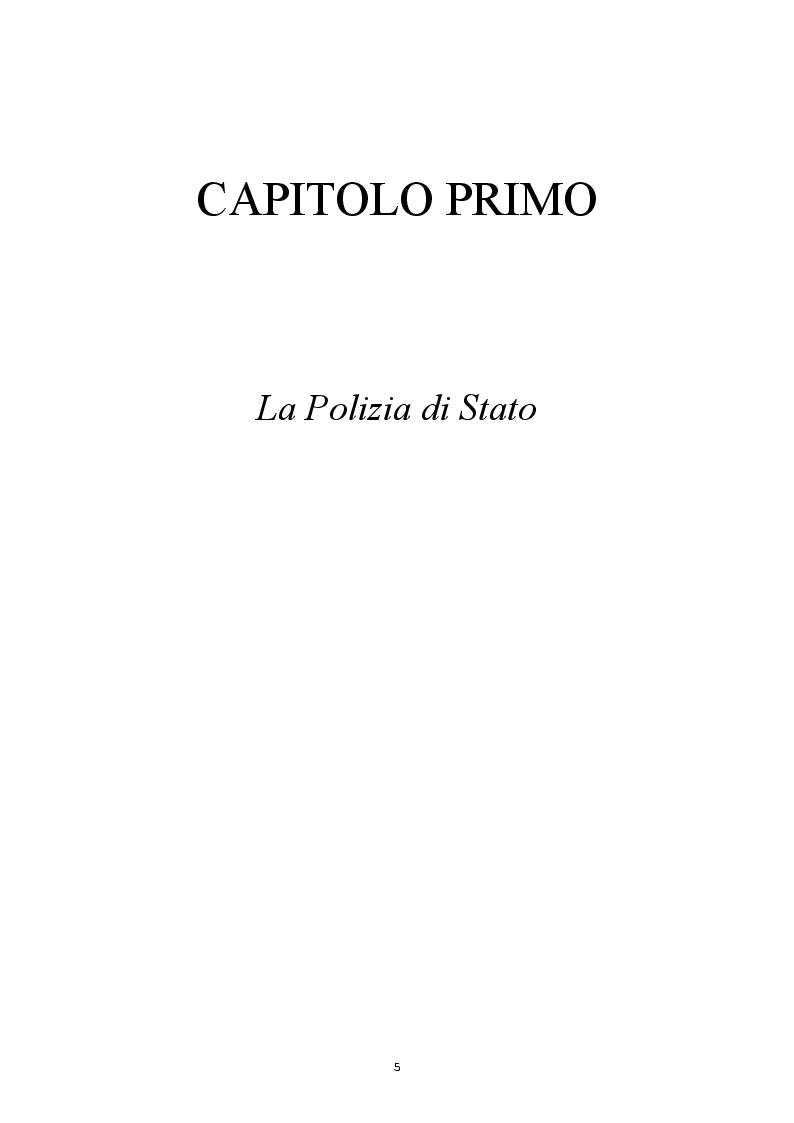 Anteprima della tesi: Il ruolo del sindacato a 20 anni dalla riforma della Polizia di Stato, Pagina 2