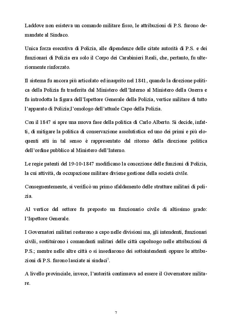 Anteprima della tesi: Il ruolo del sindacato a 20 anni dalla riforma della Polizia di Stato, Pagina 4