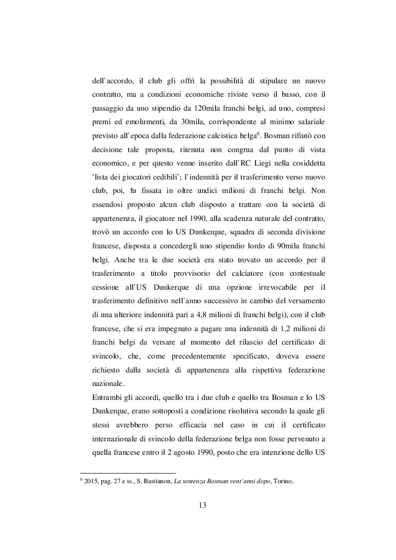Anteprima della tesi: Nascita ed evoluzione del Financial Fair Play: dalle criticità economiche ai possibili modelli alternativi, Pagina 10