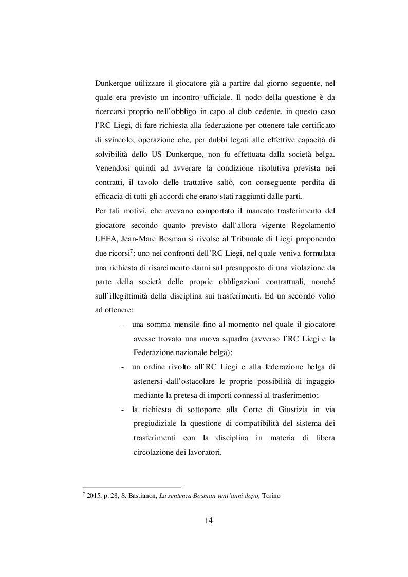Anteprima della tesi: Nascita ed evoluzione del Financial Fair Play: dalle criticità economiche ai possibili modelli alternativi, Pagina 11