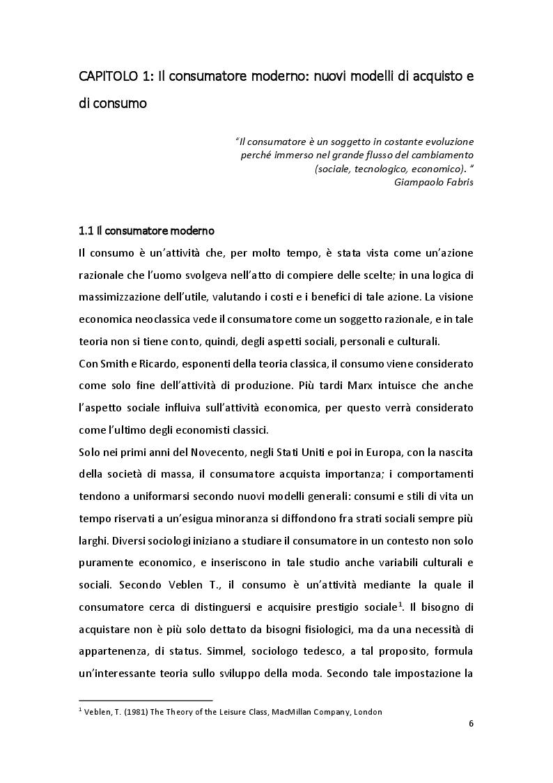 Anteprima della tesi: Online Grocery: acquisti di impulso e ruolo del device, Pagina 5