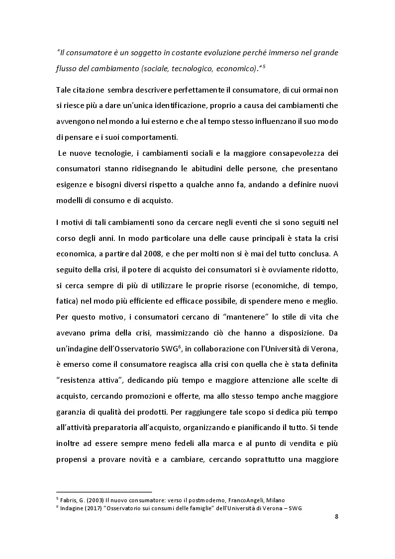 Anteprima della tesi: Online Grocery: acquisti di impulso e ruolo del device, Pagina 7