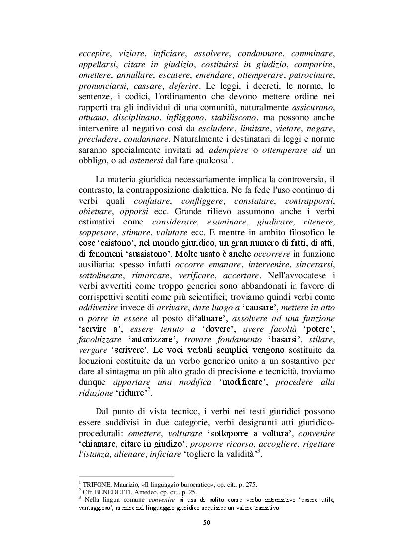 Anteprima della tesi: Il linguaggio giuridico: analisi linguistica e difficoltà traduttive. Studio applicato alle sentenze della Corte dei Conti (2009 - 2013), Pagina 11