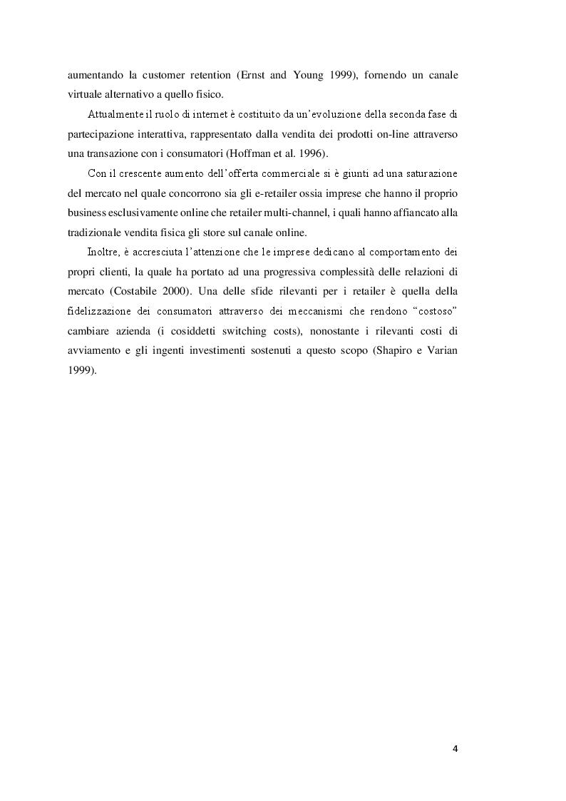 Anteprima della tesi: La segmentazione della clientela attraverso l'uso del data mining: un'applicazione nell'e-commerce, Pagina 3