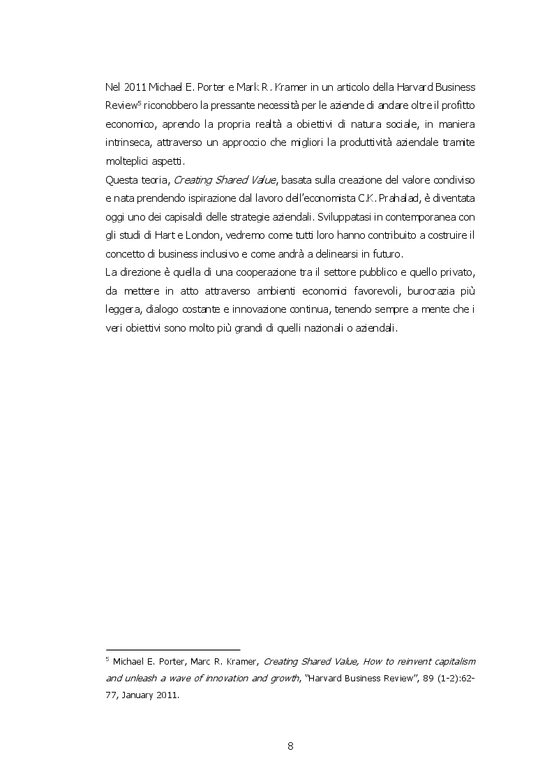 Anteprima della tesi: Crescita sostenibile e business inclusivo, modelli per lo sviluppo delle economie e delle comunità: tre casi di studio in Kenya, Pagina 5