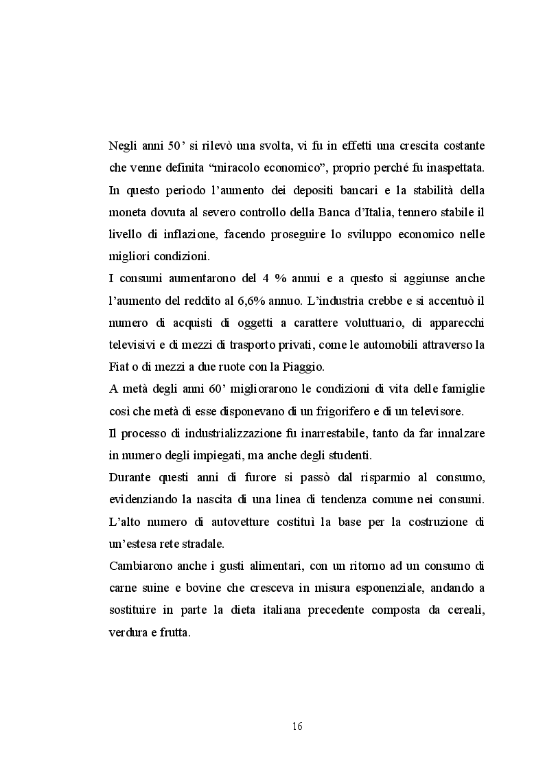Anteprima della tesi: Il paniere dei beni in Italia: come variano i gusti di una popolazione, Pagina 4