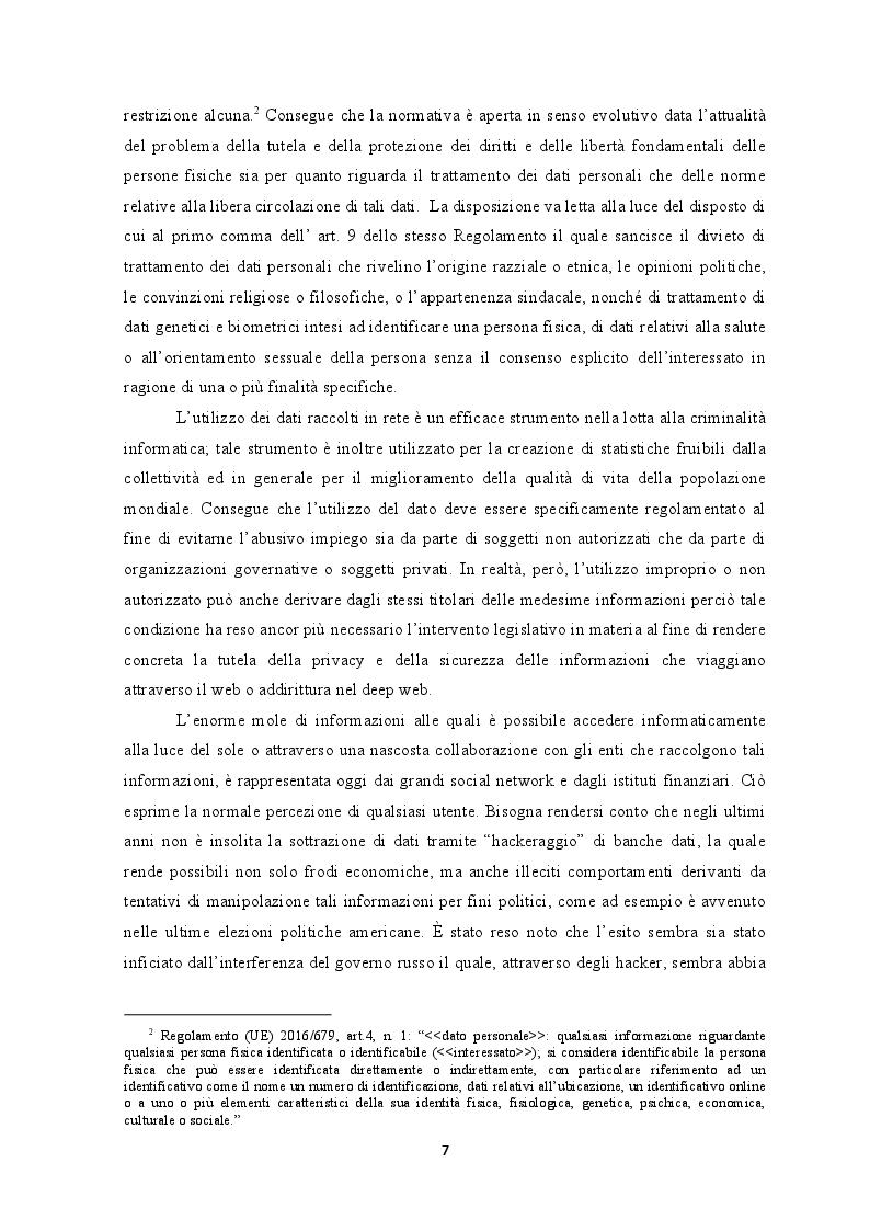 Anteprima della tesi: Deep web: Libertà o trappola sotto la rete?, Pagina 6