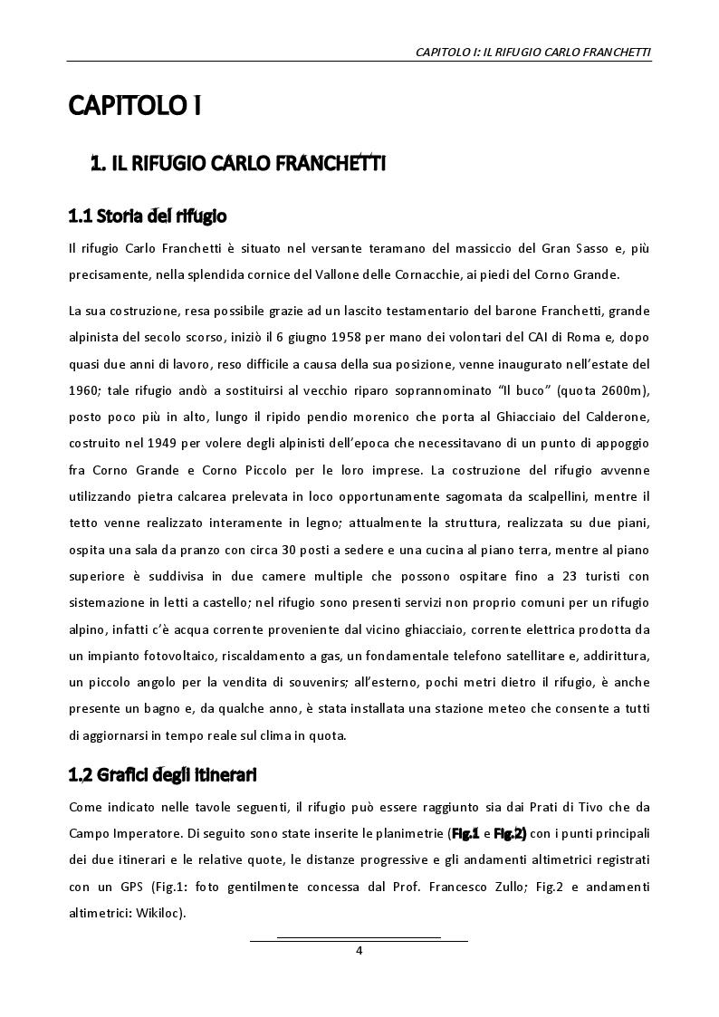 Anteprima della tesi: Progetto di un belvedere panoramico al rifugio Carlo Franchetti, Pagina 2