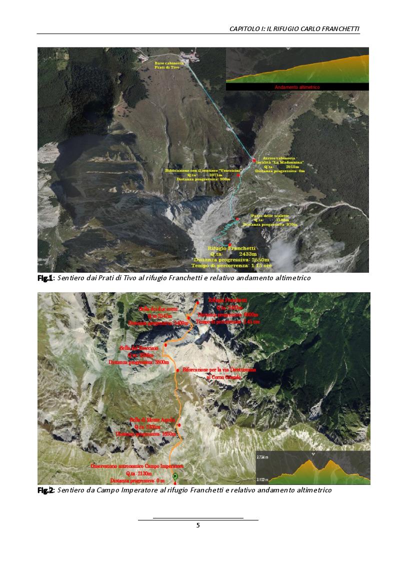 Anteprima della tesi: Progetto di un belvedere panoramico al rifugio Carlo Franchetti, Pagina 3