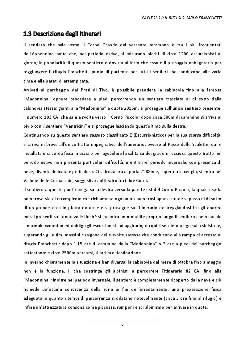 Anteprima della tesi: Progetto di un belvedere panoramico al rifugio Carlo Franchetti, Pagina 4