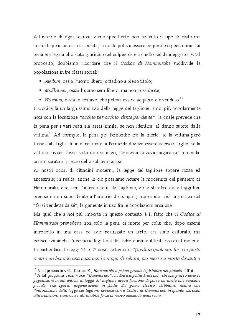 Anteprima della tesi: Vim Vi Repellere Licet: la legittima difesa nel diritto romano, Pagina 4