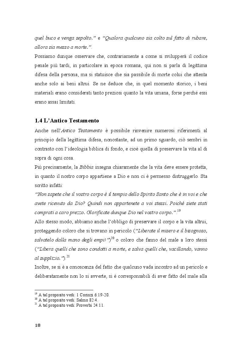 Anteprima della tesi: Vim Vi Repellere Licet: la legittima difesa nel diritto romano, Pagina 5