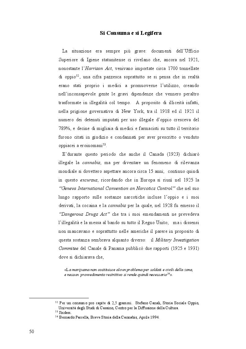 Anteprima della tesi: La mobilità psichedelica nell'Unione Europea. Origini e sviluppo del turismo per droga, Pagina 2