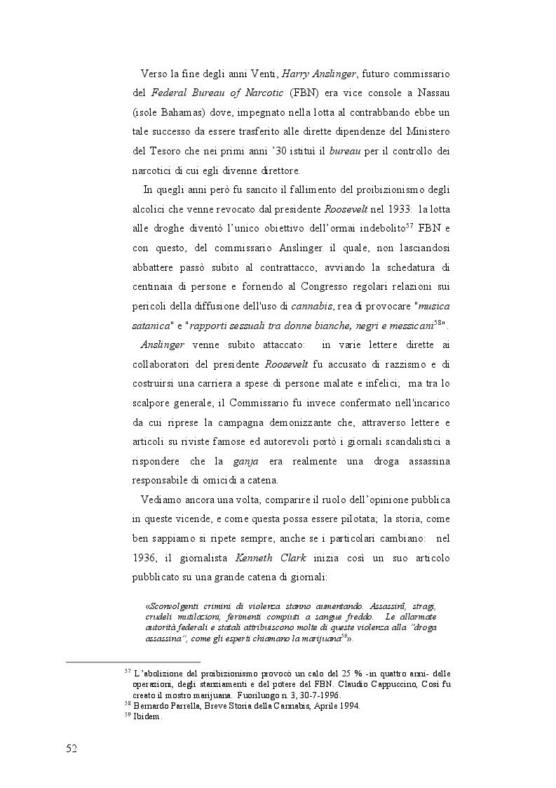 Anteprima della tesi: La mobilità psichedelica nell'Unione Europea. Origini e sviluppo del turismo per droga, Pagina 4